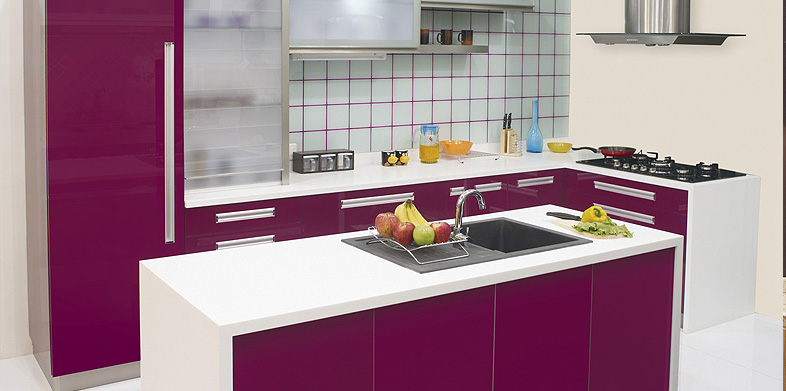 Indian kitchen trolley colour combination for Kitchen trolley design