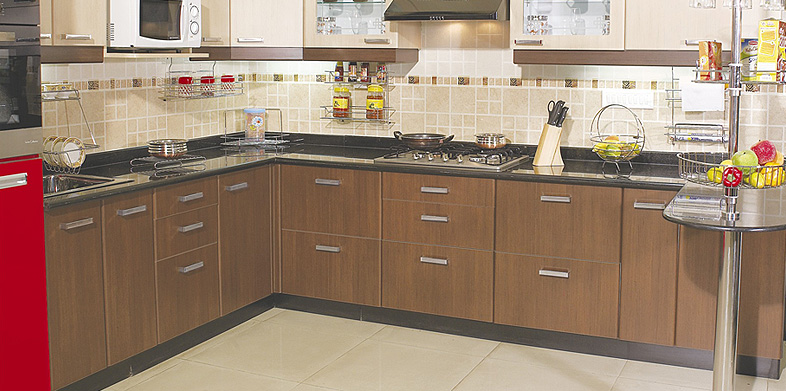 Design indian kitchen for L shaped kitchen design ideas india