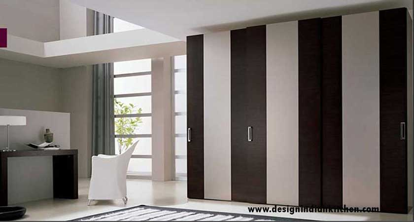 Steps in designing modular kitchen how we design your for Contemporary wardrobe designs india