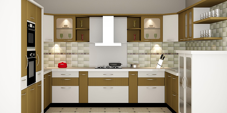 Modular kitchen designs in delhi india for Modular kitchen designs for small kitchens in india