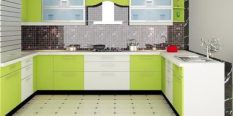 Modular kitchen designs in delhi india for Kitchen sunmica design