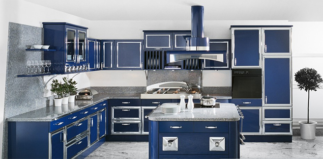 Modular kitchen 3d images in delhi india for Kitchen design images