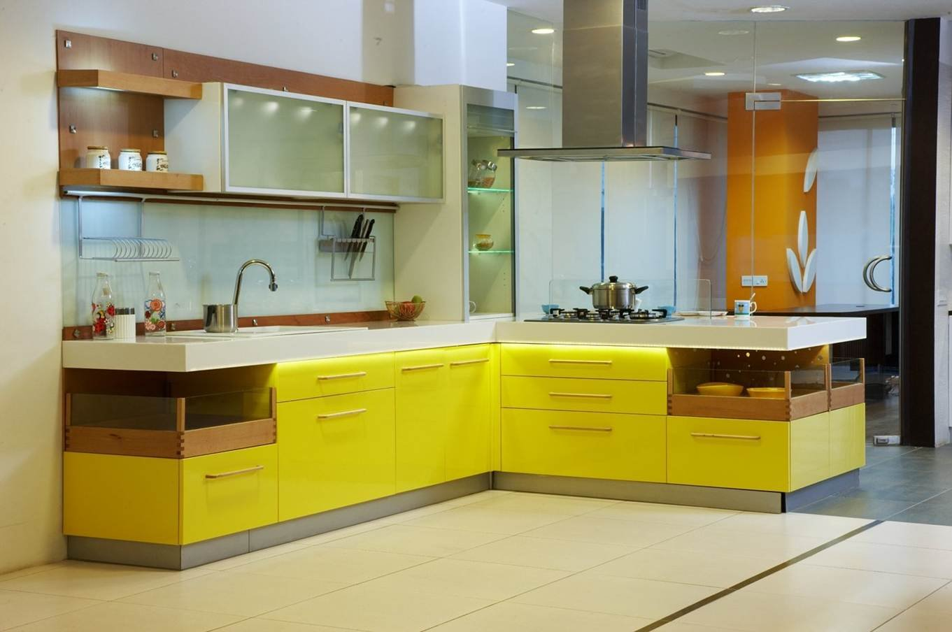 Design indian kitchen for Modular kitchen designs for small kitchens in india