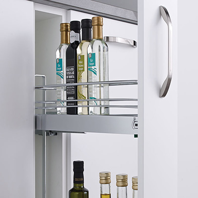 ... Kitchen Cabinets Es Pull Out Drawer Bottle Pullout ...