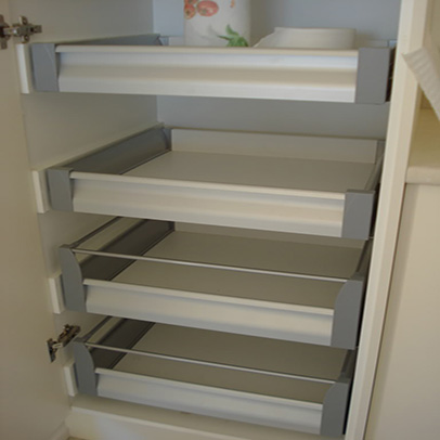 Modular kitchen pantry units in delhi india kitchen pantry for Tall kitchen drawer unit