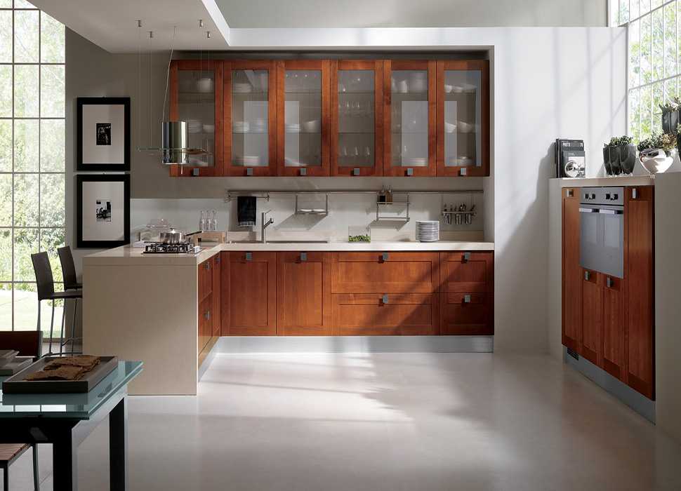 Modular kitchen models designs in delhi india for Indian style kitchen design images