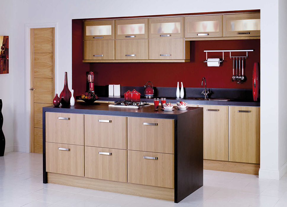 Modular kitchen models designs in delhi india for Model home kitchen images