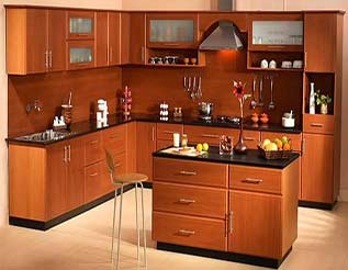 Modular kitchen delhi india modular kitchen for Best material for kitchen cabinets in india